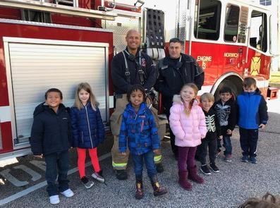 PK Fire Department Visit