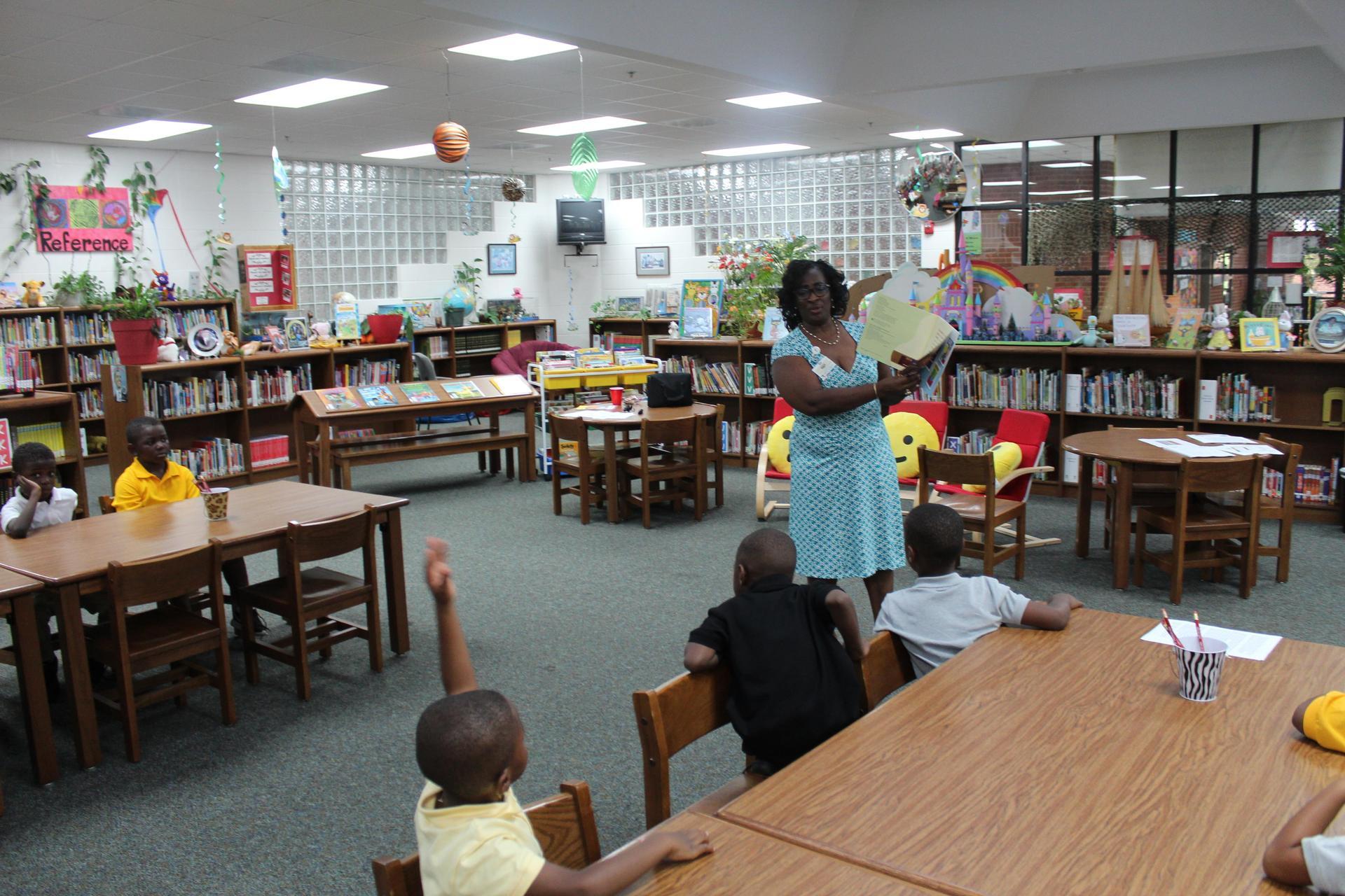 Library Orientation, Mrs. Sermons