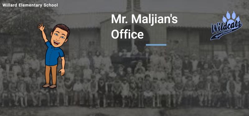 Check out 'Mr. Maljian's Office' Webpage! Thumbnail Image