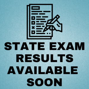 state exam results available soon