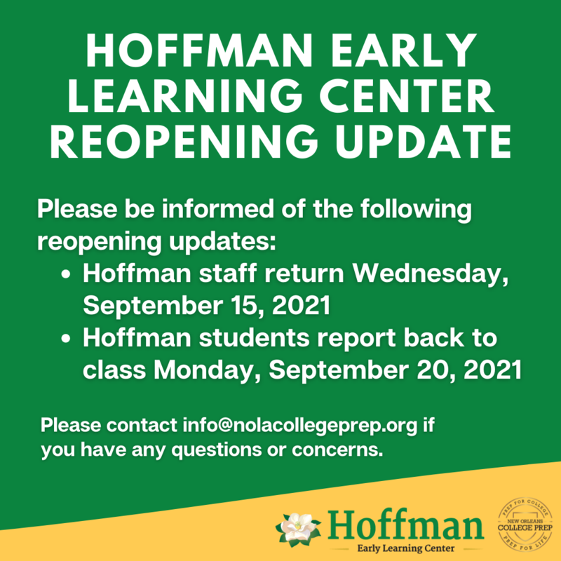 Hoffman Reopening Update Featured Photo