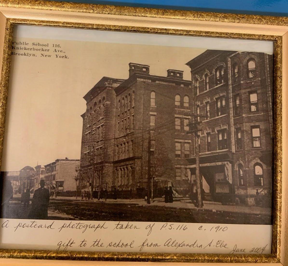 Pic of School taken in 1910