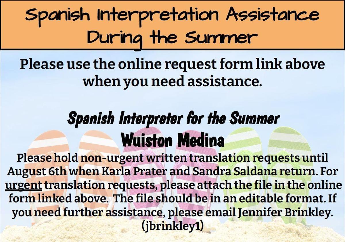 Summer Interpretation Flyer Photo