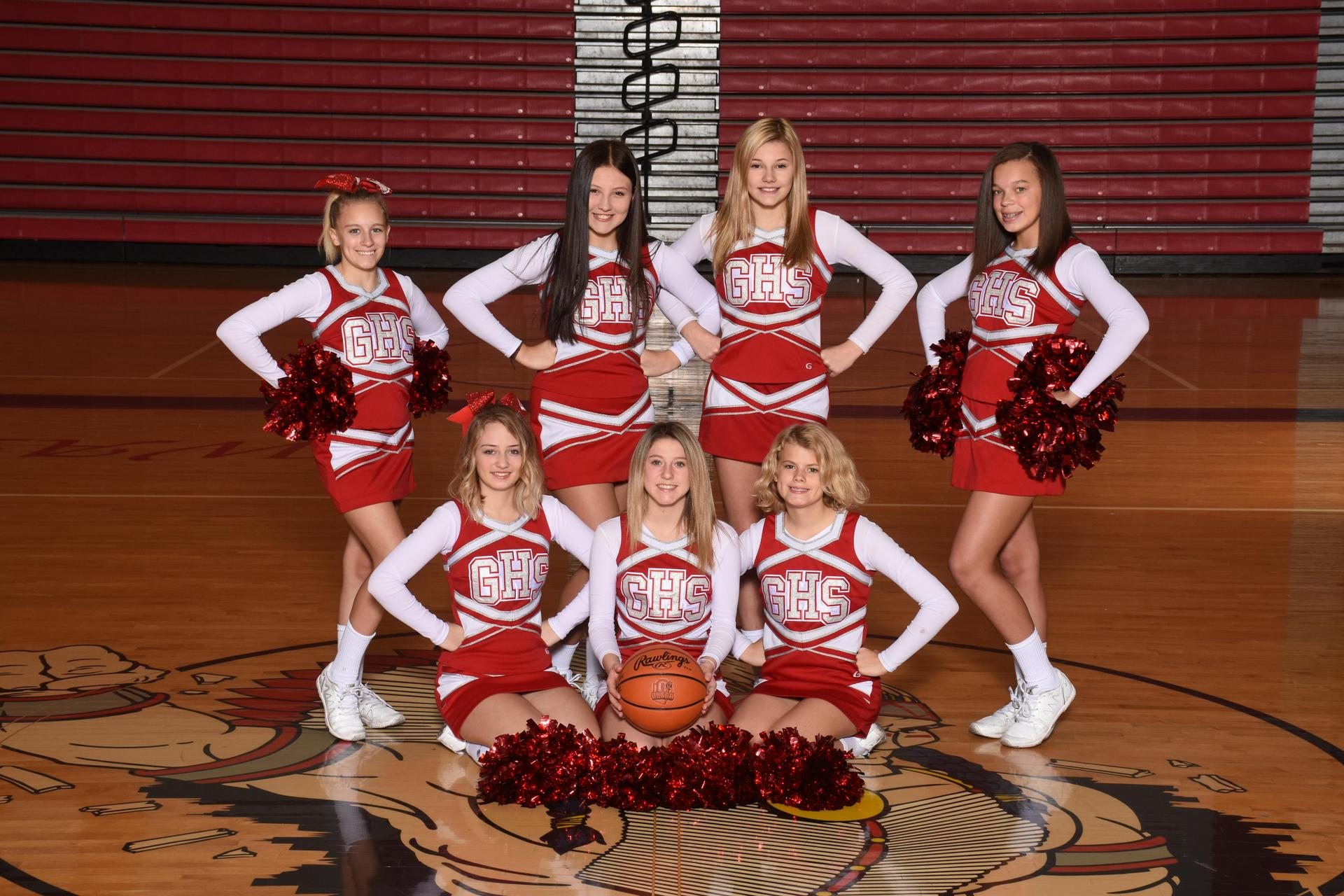 Freshman Cheerleaders