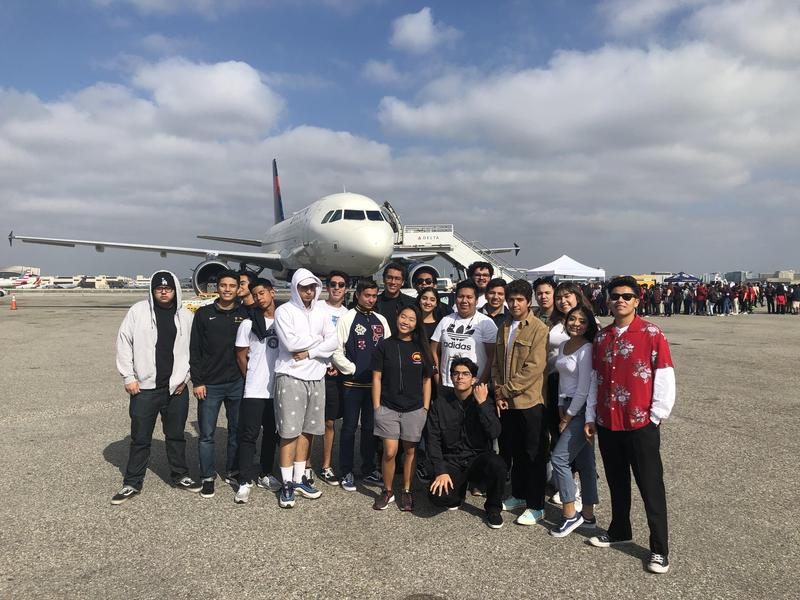 Architectural Design Students Attended LAX Career Fair Featured Photo