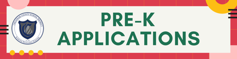 PreK applications are now available