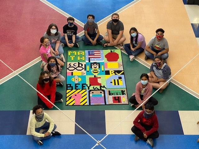 STUDENTS LEARN MATH AND SCIENCE THROUGH QUILTING Thumbnail Image