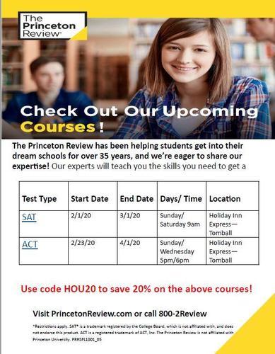 PR Spring Courses