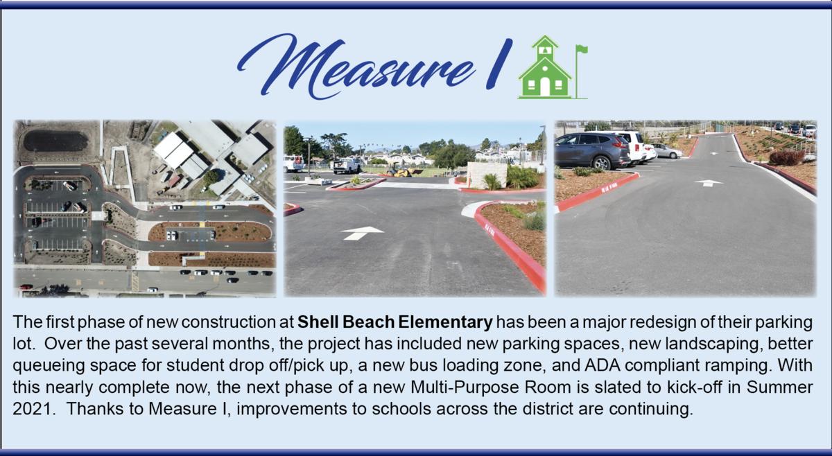 Measure I, Improvements at Shell Beach Elementary