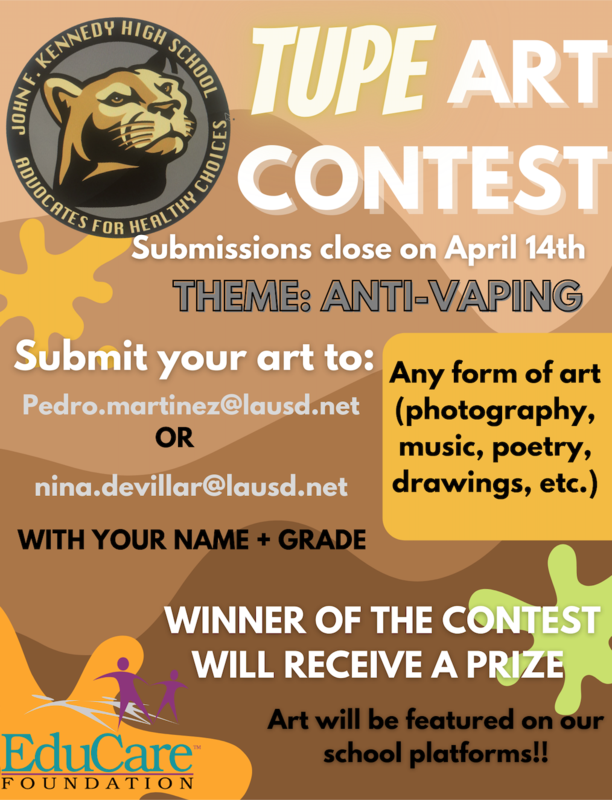 Advocates for Healthy Choices Presents: Anti-Vaping Art Contest Featured Photo