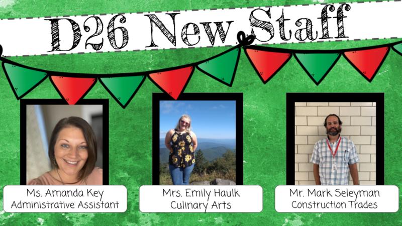 New D26 Staff