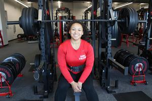MHS Powerlifter Jayla Quichocho