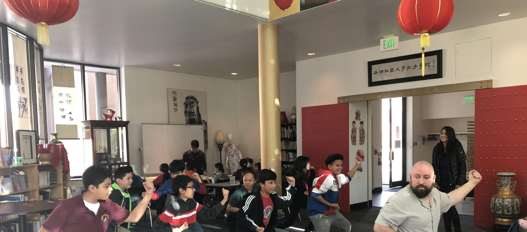 GVA Aurora: 4th & 5th grade Field Trip to Confucius Society
