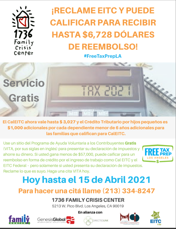 Servicio Gratis De Impuestos (Click en Link Para información) Featured Photo