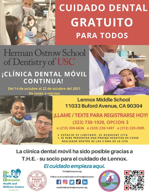 dental clinic flyer spanish