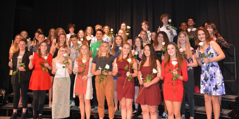 National Honor Society Inducts 40 Sandia Prep Students Featured Photo