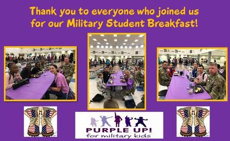 Military Student Breakfast