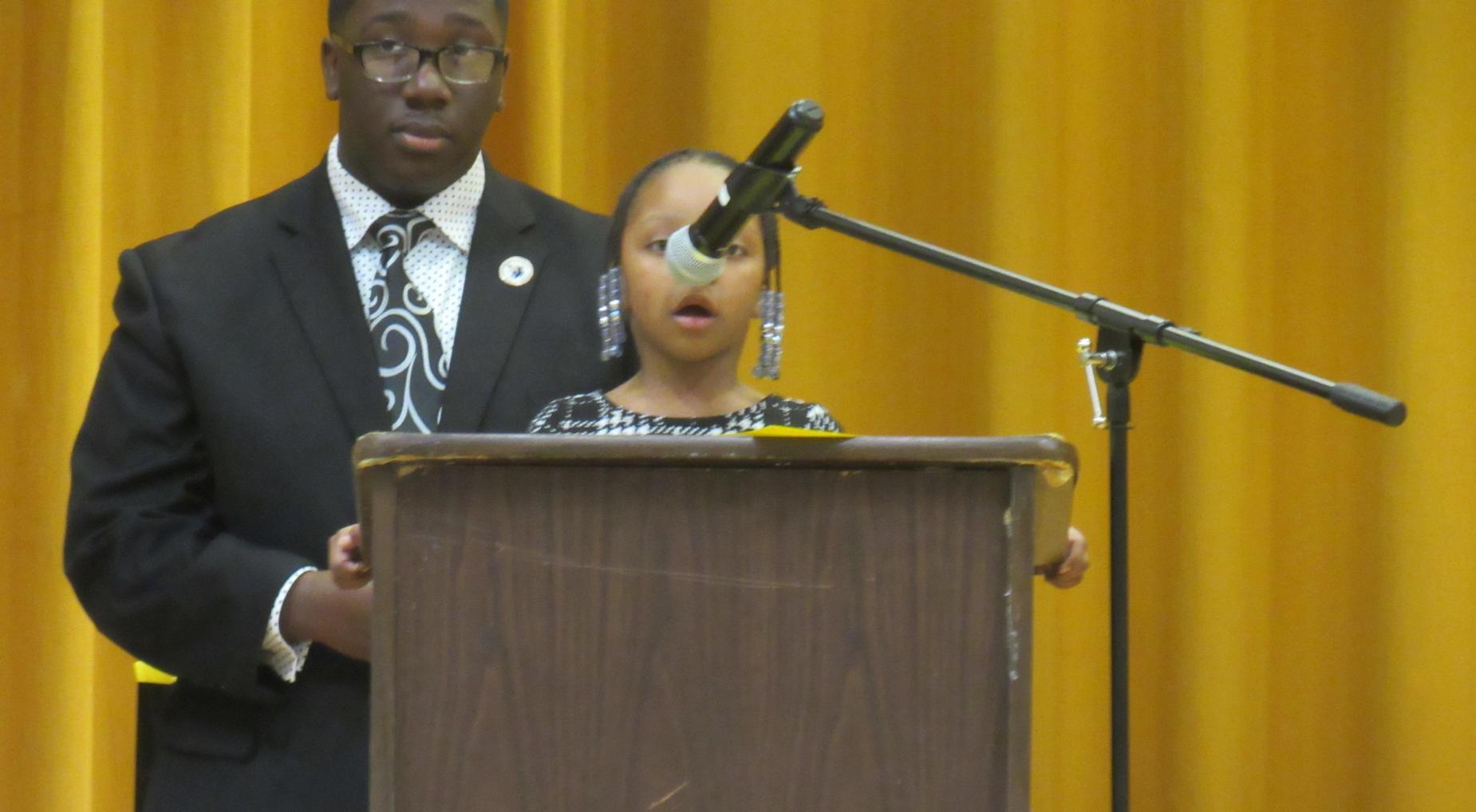 LLE MLK Oratorical Speech Contest Winner