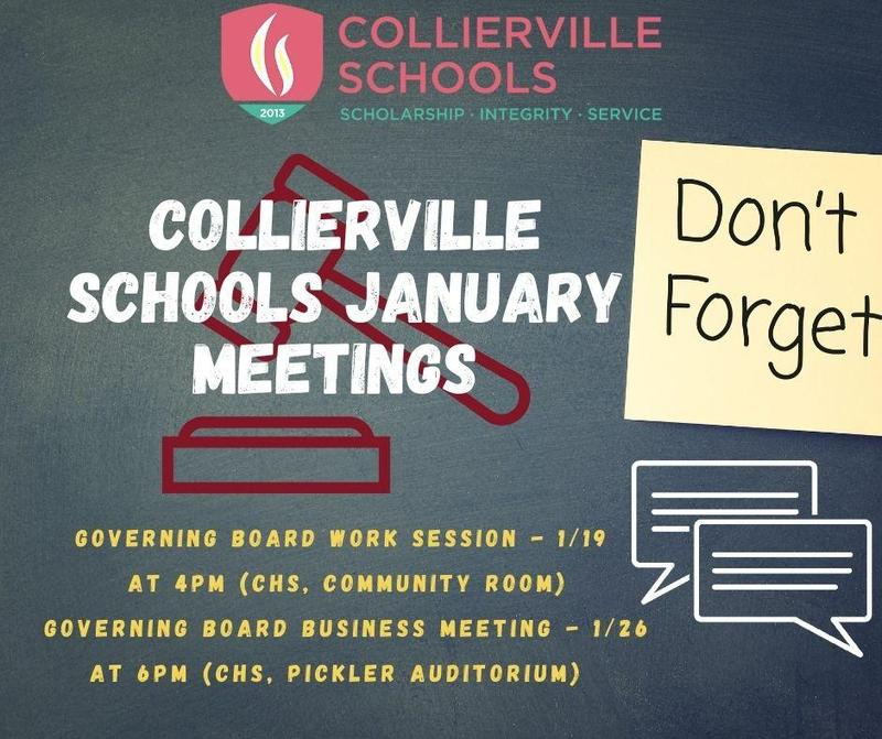 January Governing Board Meetings: 1/19 and 1/26 Featured Photo