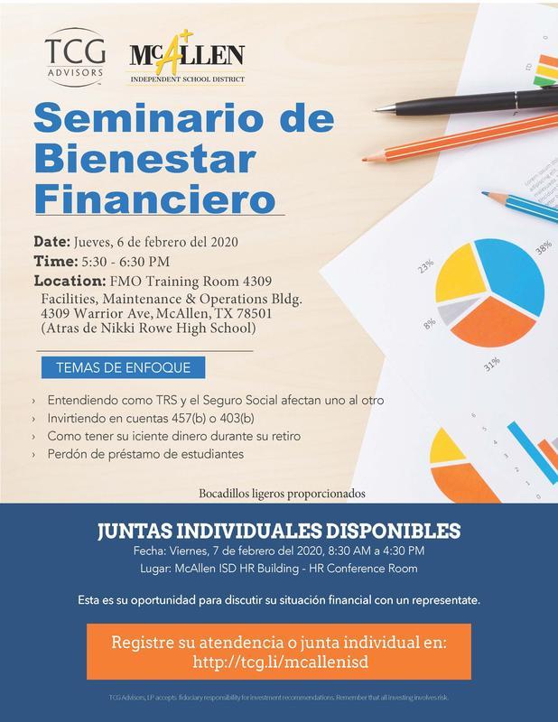 Financial wellness seminar page 2