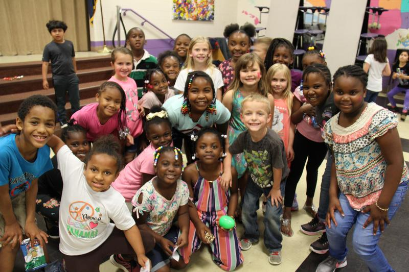 First grade students enjoyed a dance party complete with snacks and face painting booths on Friday, April 26th.  The dance party was one of many Relay for Life fundraising events held across Lexington County School District Three.