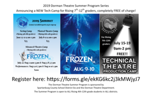 summer program flier