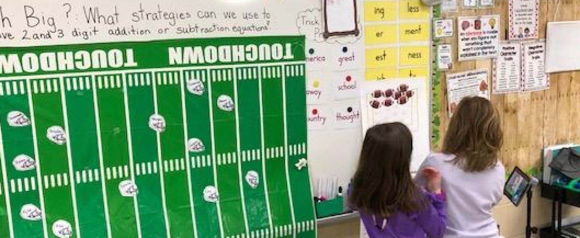 Super Bowl Fun 2nd Grade Math!