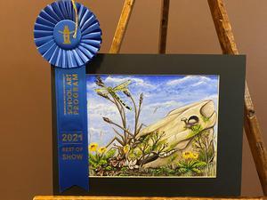 Emma Siecko Houston Livestock Show Art