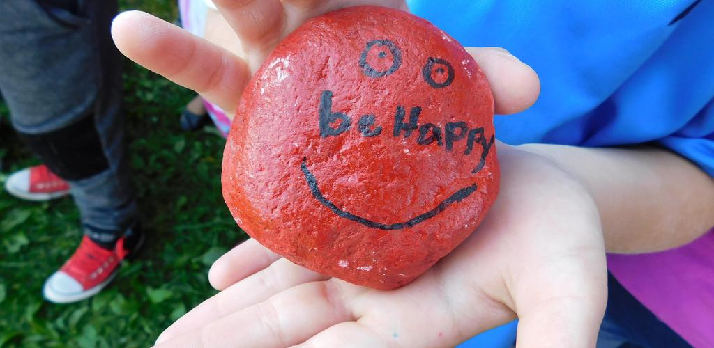 Be Happy, Kindness Rocks!