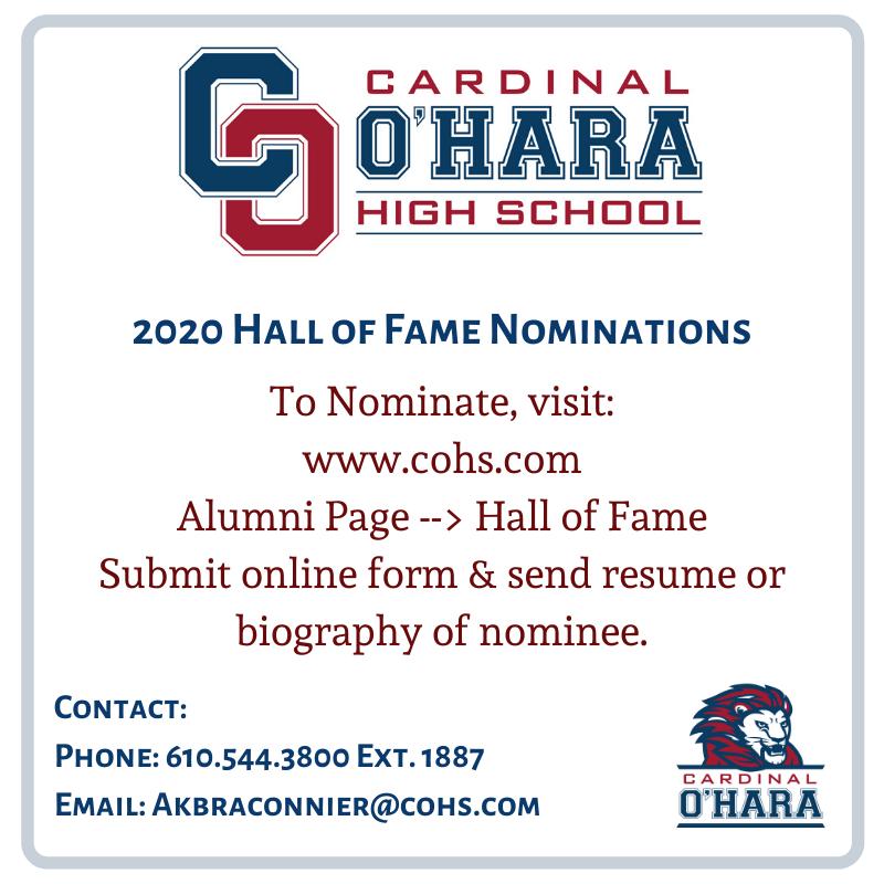 2020 HOF Nomination