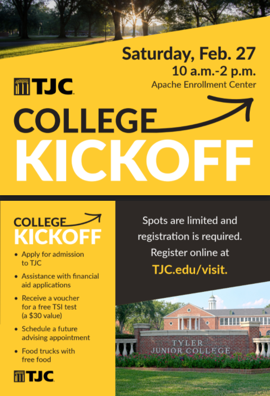 TJC College Kickoff Featured Photo