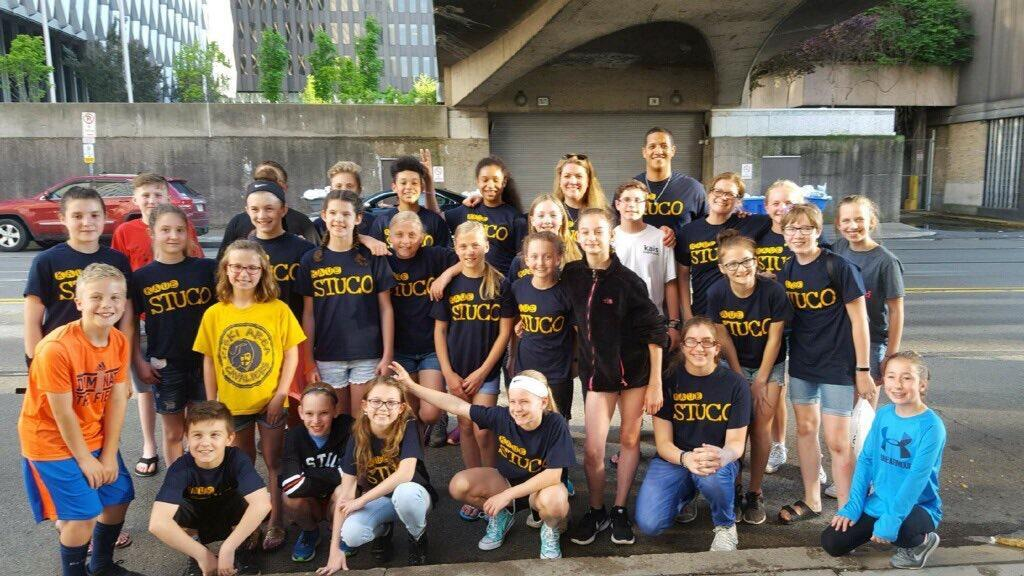 KAUE Student Council working for others in the city of Pittsburgh
