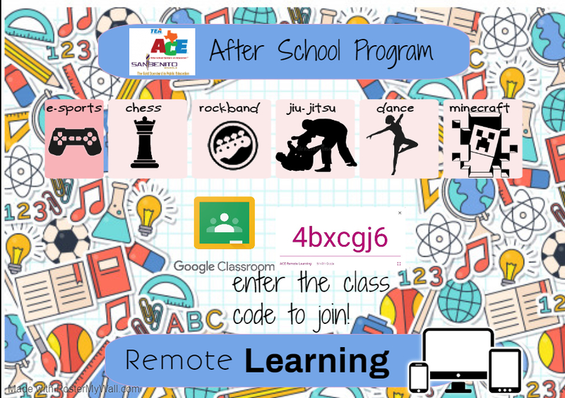 After School Program Remote Learning