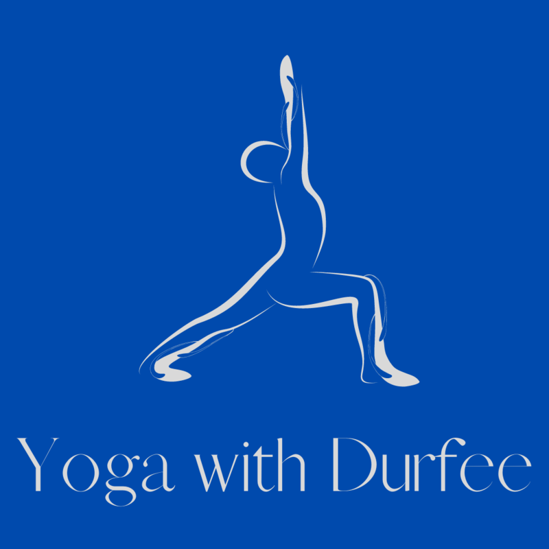 Yoga with Durfee graphic
