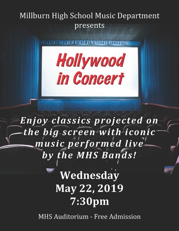 Flier for May 22 concert