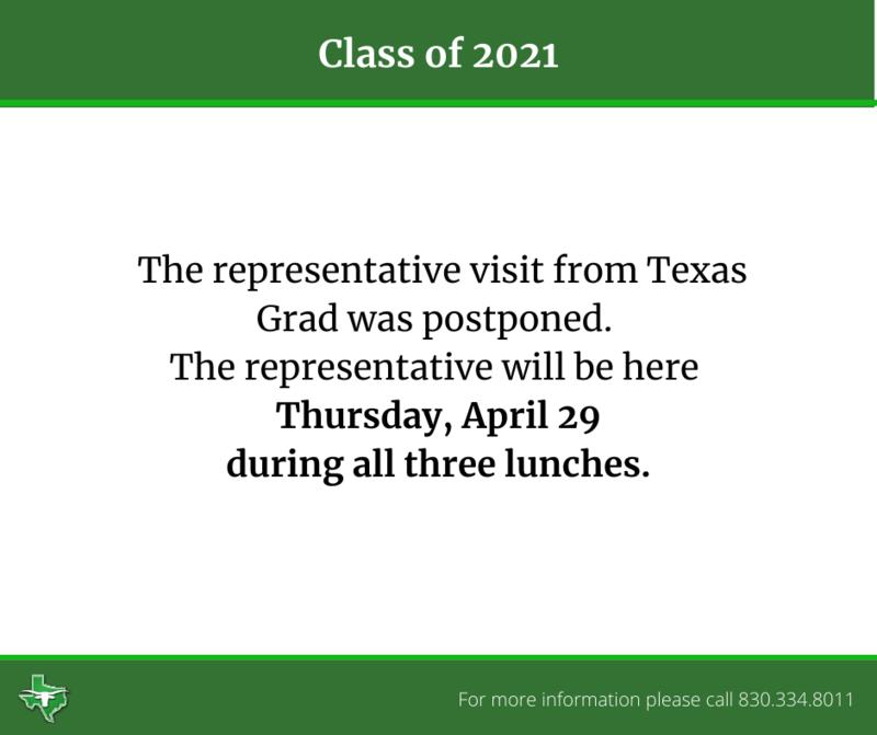 Texas Grad Rep Visit Thumbnail Image
