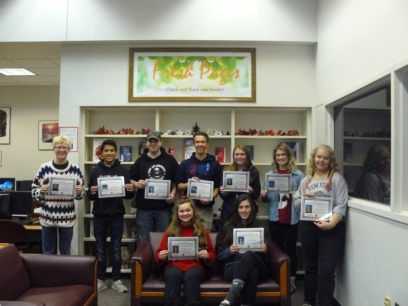 NOVEMBER STUDENTS OF THE MONTH Thumbnail Image