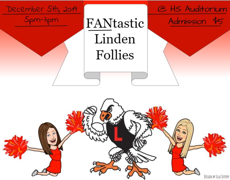 Linden Faculty Follies - Mark Your Calendars!  Thursday, December 5, 2019 Thumbnail Image
