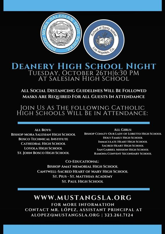 Deanery High School Night Featured Photo