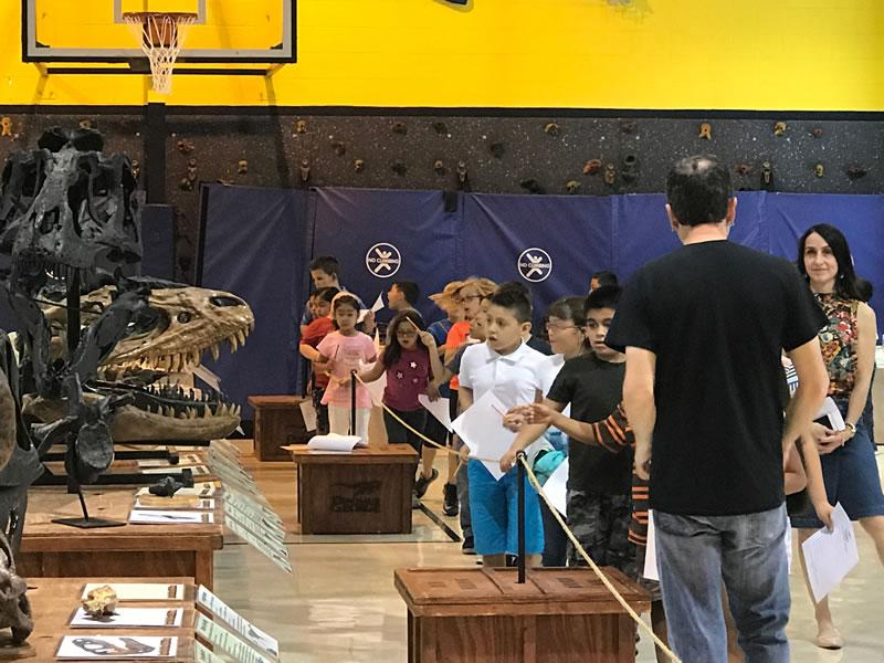 CES Dinosaur George 2017