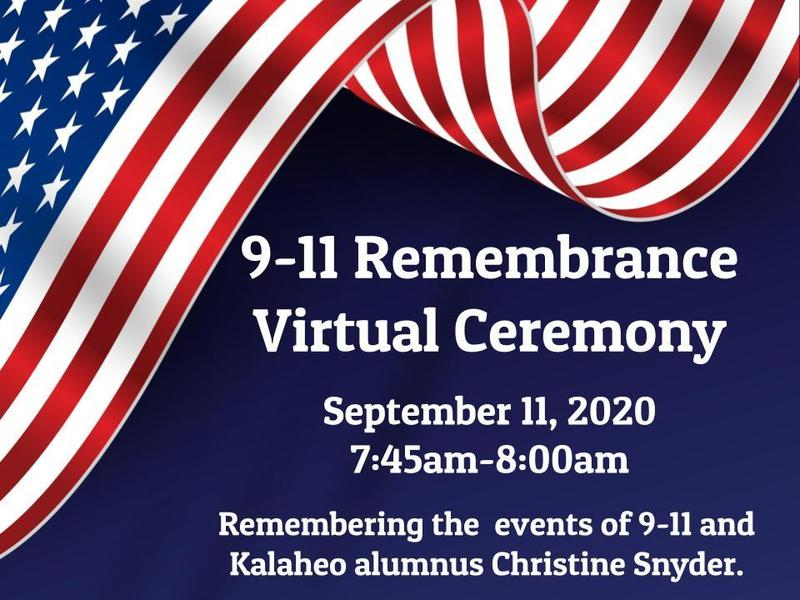 9-11 Remembrance Virtual Ceremony Featured Photo