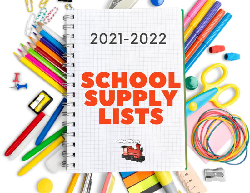 2021-22 School Supply List Thumbnail Image