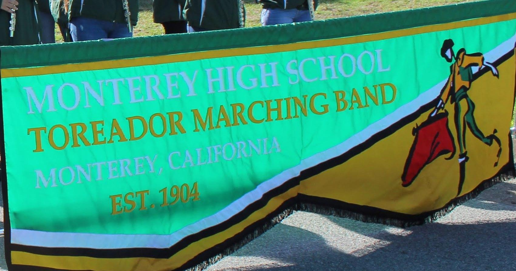 Marching Band Banner
