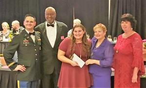 VFW Scholarship winner from Bret Harte