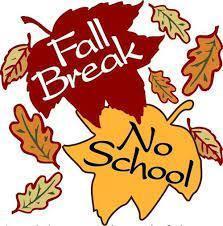 Fall break no school
