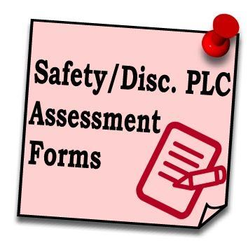 District Safety Assessment Forms