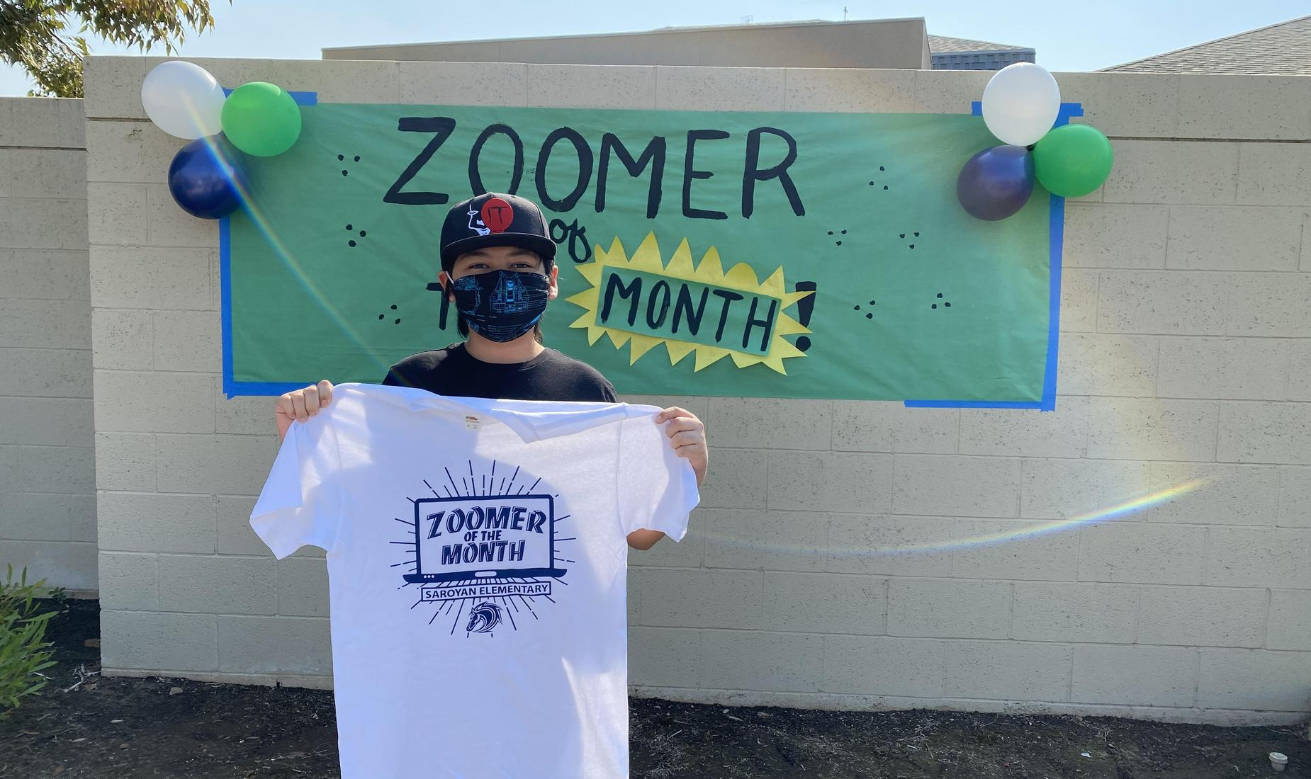 Saroyan Elementary Zoomer of the Month
