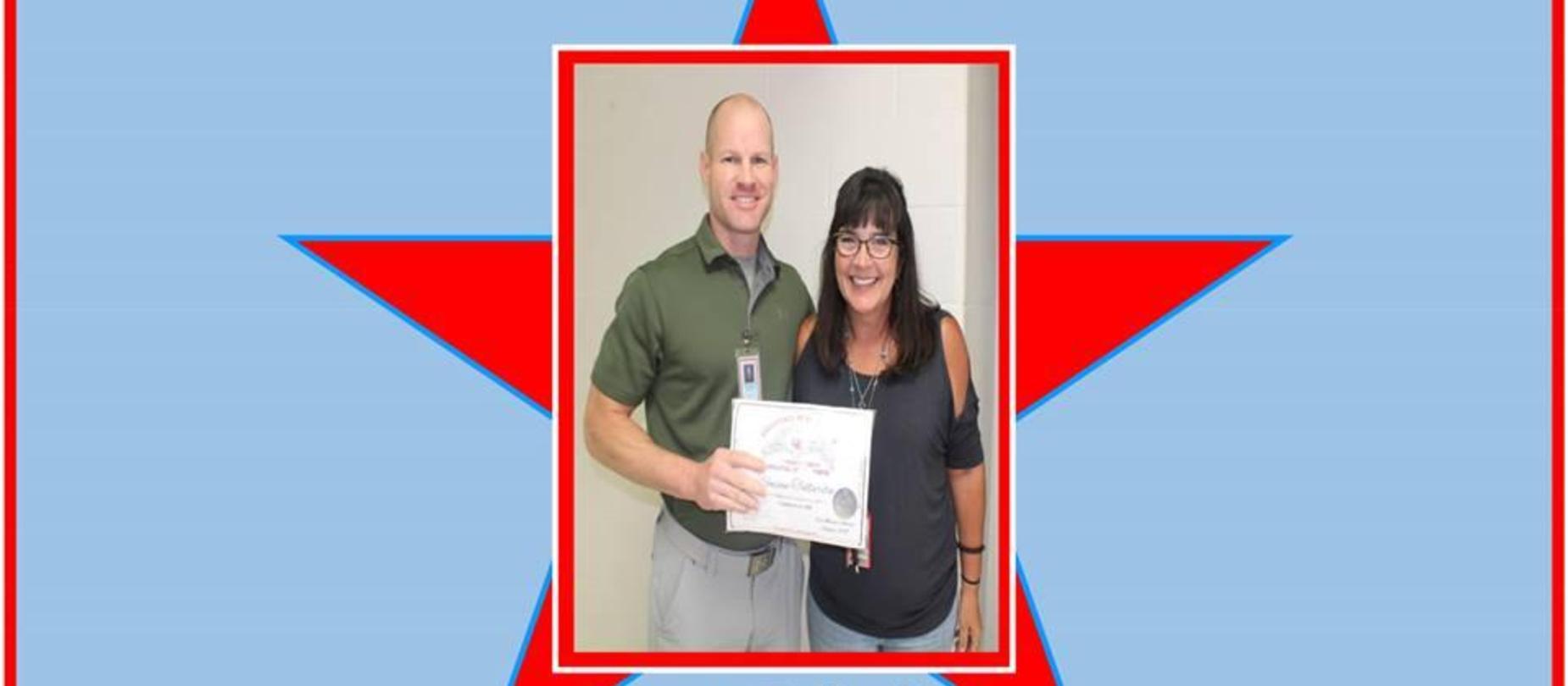 Susan Tallarita September Employee of the Month