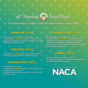 Feast Week Schedule