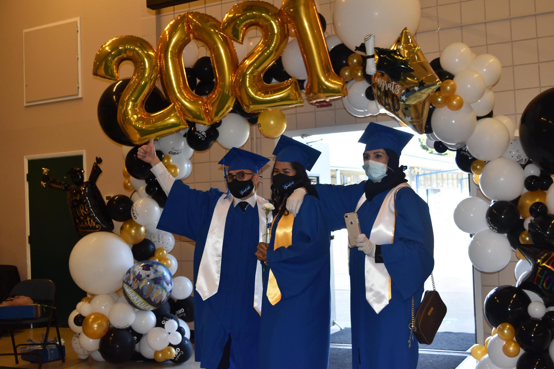 Winter 2021 Graduates